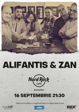 Concert Alifantis & ZAN pe 18 februarie 2021