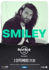 Concert Smiley pe 3 septembrie