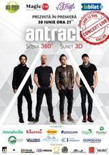 Concert live ANTRACT 360 de grade - Premiera in Romania!
