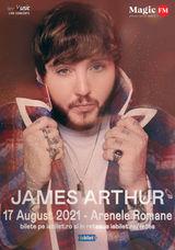 Concert James Arthur la Bucuresti