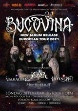 Bucovina Album release show - Stockholm