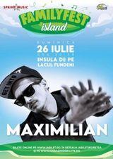 Concert Maximilian la FAMILYFEST Island