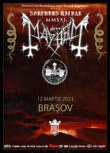 Brasov: MAYHEM // MORTIIS pe 12 martie 2021