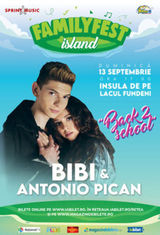 "Concert Bibi & Antonio Pican ""Back 2 school"" @ #FAMILYFEST Island"