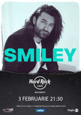 Concert Smiley pe 3 februarie 2021