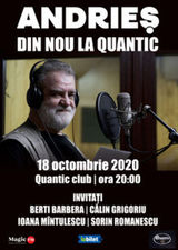 Concert Alexandru Andries in Club Quantic