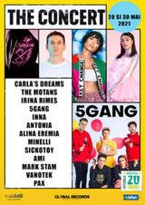 5 GANG concerteaza in cadrul festivalului The Concert