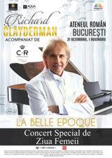 Richard Clayderman - La Belle Epoque pe 31 octombrie