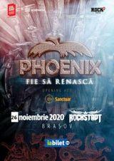 Concert Phoenix la Club Rockstadt pe 26 noiembrie