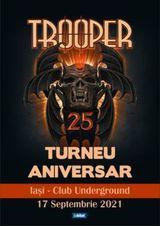 Iasi: Concert aniversar Trooper pe 17 septembrie