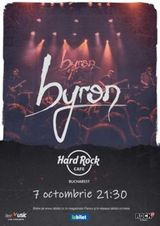 Concert byron pe 7 octombrie in Hard Rock Cafe