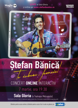 Concert Stefan Banica - Te iubesc, femeie!