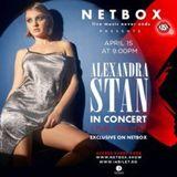 Concert online Alexandra Stan @ Netbox