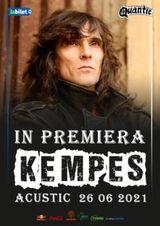 Concert Kempes acustic in premiera
