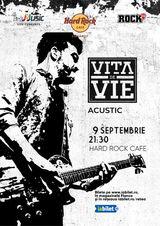Concert Vita de Vie - Acustic pe 9 septembrie