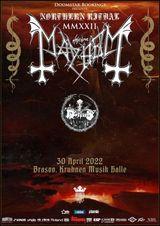 Brasov: MAYHEM // MORTIIS pe 30 aprilie 2022