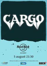 CARGO canta la Hard Rock Cafe pe 5 august