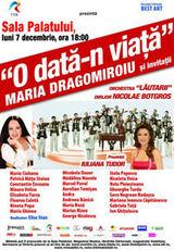Concert aniversar Maria Dragomiroiu la Bucuresti