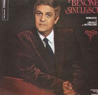 Benone Sinulescu - Romante si Cantece de petrecere