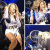 Beyonce si-a prins parul intr-un ventilator in timpul unui concert (video)