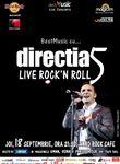 BestMusic cu directia 5, joi, 18 septembrie, la Hard Rock Cafe