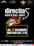 Concert Directia 5 - Rock'n Roll Baby la Hard Rock Cafe