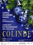 Concert de Colinde Corul Academic Radio la Sala Radio