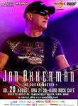 Concert Jan Akkerman la Hard Rock Cafe pe 20 august