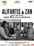 Concert Nicu Alifantis & Zan la Hard Rock Cafe pe 20 mai