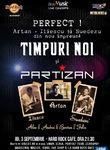 Timpuri Noi + Partizan  un show perfect pe 3 septembrie la Hard Rock Cafe