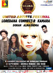 Loredana, Connect-R, Alina Eremia si Dorian canta in prima zi de United Artists Festival