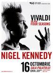 NIGEL KENNEDY 'Vivaldi The new Four Seasons' la Sala Palatului