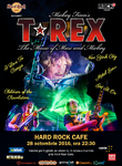 T-Rex, inventatorii glam-rockului, concerteaza la Hard Rock Cafe