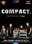Concert COMPACT pe 10 noiembrie la Hard Rock Cafe