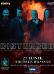 Disturbed in premiera in Romania