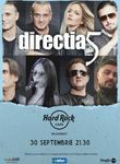 Concert Directia 5 pe 30 septembrie in Hard Rock Cafe