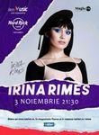 Concert Irina Rimes pe 3 noiembrie la Hard Rock Cafe