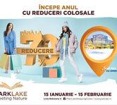Anul incepe cu reduceri colosale si o expozitie de record mondial, la ParkLake Shopping Center