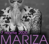 MARIZA, acompaniata de cinci instrumentisti in concertul din martie