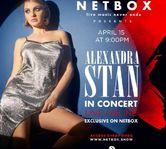 Alexandra Stan, primul concert live dupa o pauza de un an