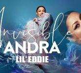 """Andra a lansat un nou single in limba spaniola, """"Invisible"""", alaturi de Lil' Eddie."""
