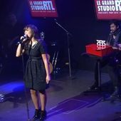 Indila - Derniere Danse / Love Story live @ RTL (video)