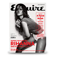 Rihanna, hot & wet in Esquire UK